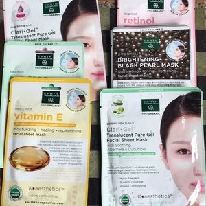 Pack of 6 Facial Sheet Masks